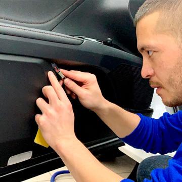 Защита пластиковых деталей авто